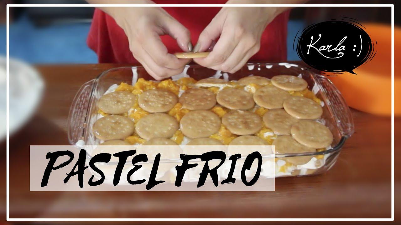 Pastel fr o r pido f cil y sin horno a cocinar con for Cocinar con 20 soles