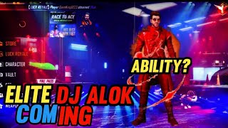 Finally elite Dj  Alok is coming | free fire Dj Alok elite version full details | Avenger Gaming