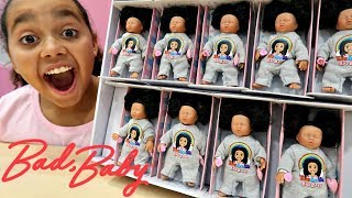 150 Toys AndMe Bad Baby Tiana Dolls Surprise Presents For Fans - Kids Toys Opening