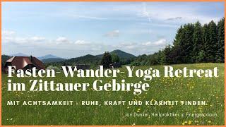 Fastenwandern | Fasten, Wandern, Yoga und Meditation in Sachsen