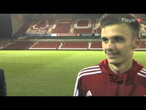 Funny: Billy Davies interrupts Jamie Paterson interview