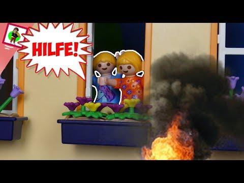 Playmobil Film 'Hilfe Feuer!' Familie Jansen / Kinderfilm / Kinderserie