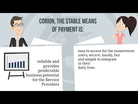 CORION Coin Stable means of payment