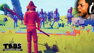 I'M GETTING TOO HYPE PLAYING THIS | TABS: Totally Accurate Battle Simulator #2