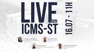 Live - Os ganhos com ICMS-ST