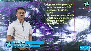 Press Briefing: Typhoon