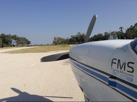 Flying in Botswana 2015