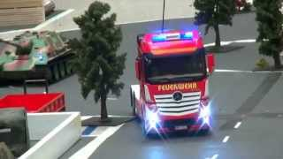 RC FIRE TRUCK, RC FIRE ENGINE HEAVY FIRE TRUCK RC MODEL IN ACTION