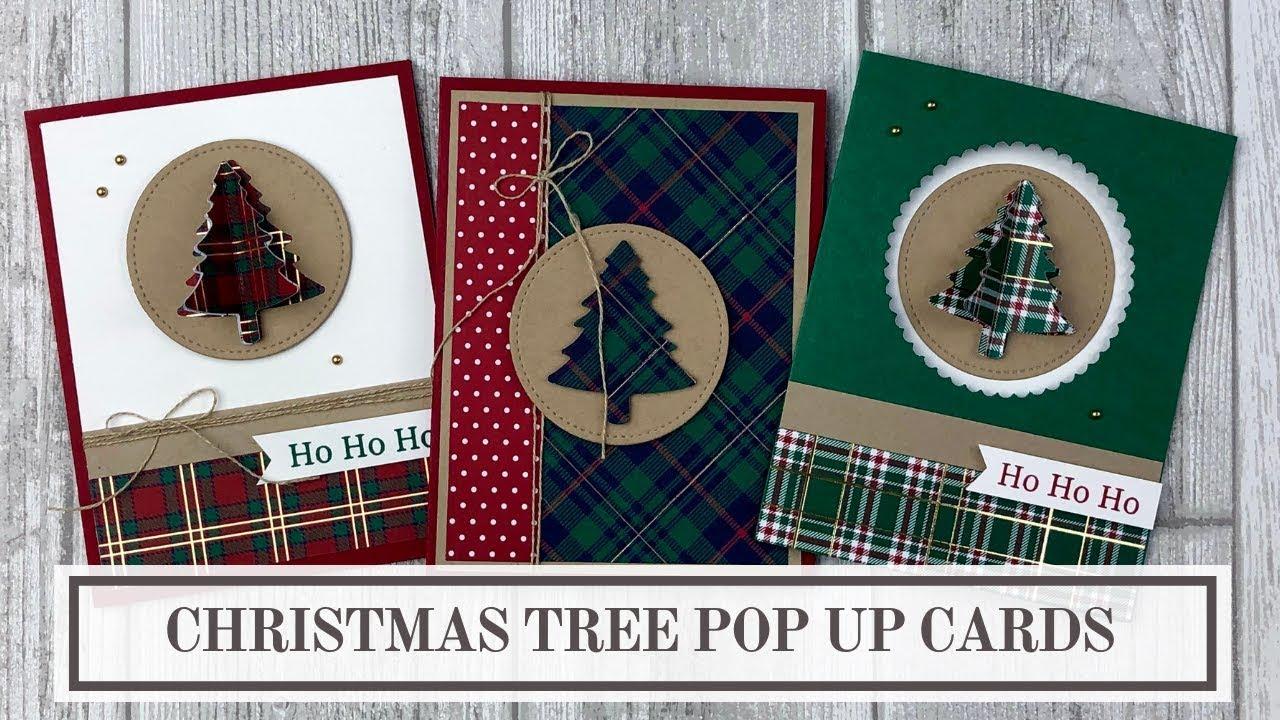 3 Pop Up Christmas Tree Card Ideas Lynn Dunn