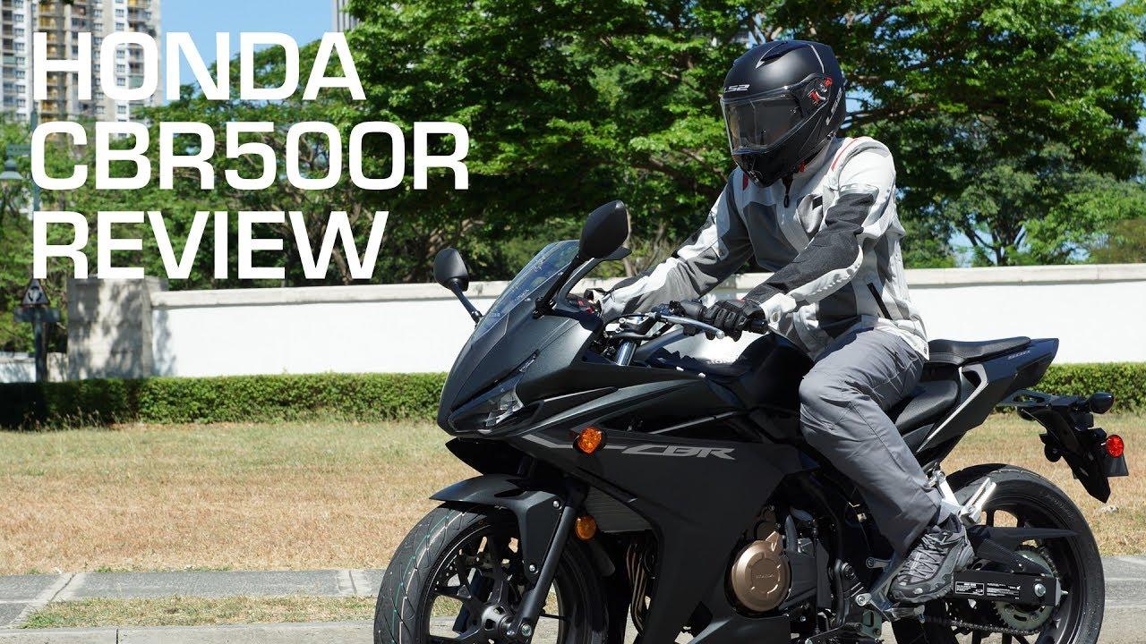 Review 2016 2017 Honda Cbr500r Matte Black Youtube