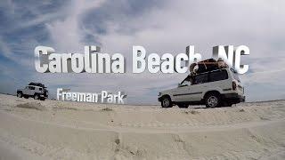 Camping on Carolina Beach, NC   Freeman Park