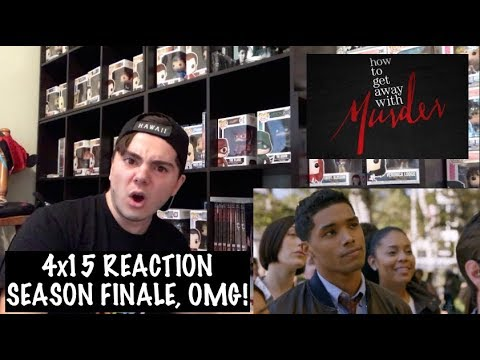 HOW TO GET AWAY WITH MURDER - 4x15 'NOBODY ELSE IS DYING' REACTION