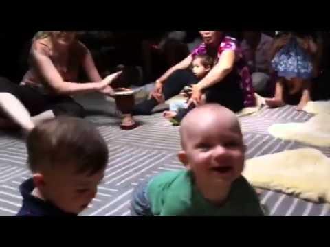 Baby Wayland music class