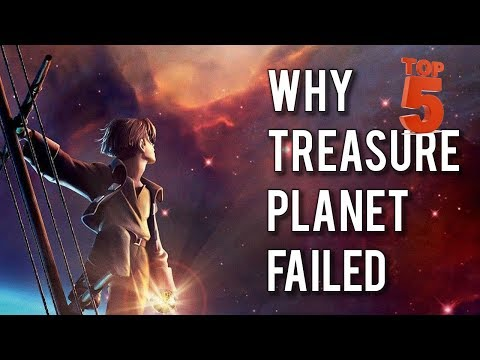 Top 5 reasons why Disney's underrated Treasure Planet bombed
