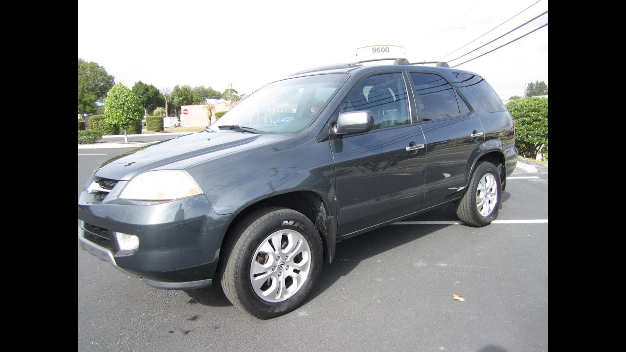 SOLD Acura MDX Touring One Owner Meticulous Motors Inc Florida - Acura mdx 2003 for sale