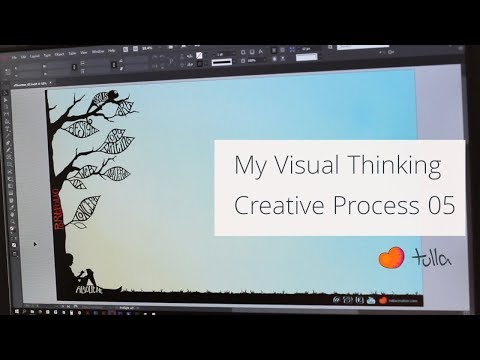 My visual thinking process: Creating a portfolio 05