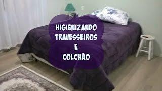 FAXINA: Como limpar e higienizar travesseiros e colchão