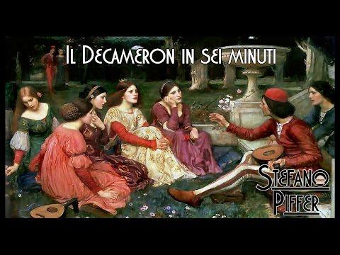 Il DECAMERON di Giovanni Boccaccio in sei minuti