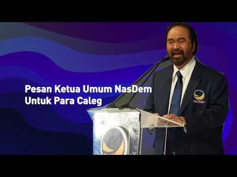 Pesan Ketua Umum untuk Para Caleg