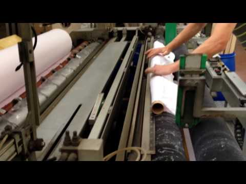 Inspection/rolling machine for woven fabric and knitting fabric