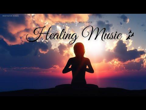 320 Hz 1 Hour Deep Relaxing Flute Music : Healing Meditation, Yoga, Spa, Study, sleep, Calming Music