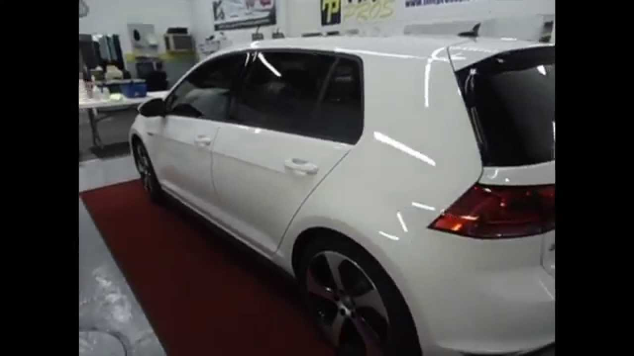 2015 Vw Gti 3m Window Tint By Tint Pros 216 906 6084 Youtube