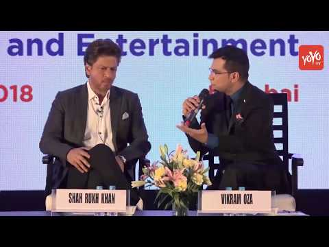 Bollywood Film News 2018 : Shahrukh Khan At Magnetic Maharashtra Media Session