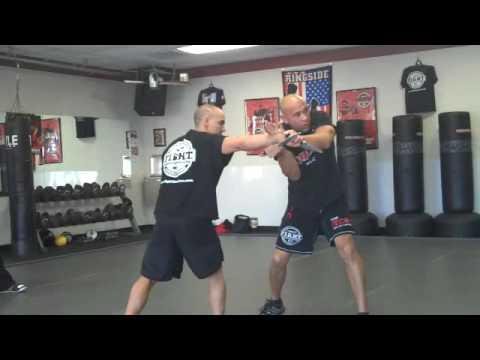 Mike Lee Kanarek teaching Israeli Tactical Knife Fighting in