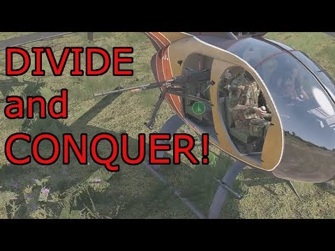 Divide and Conquer! Arma 3 Zeus British Commando Ops