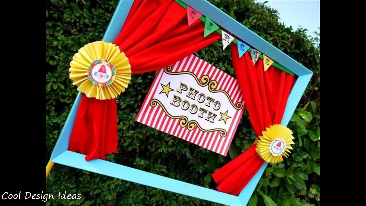 DIY Carnival Party Decorations Ideas