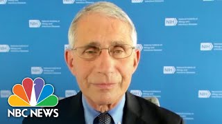 Fauci: Approval For Coronavirus Vaccine Might Come By End Of Year   NBC News NOW