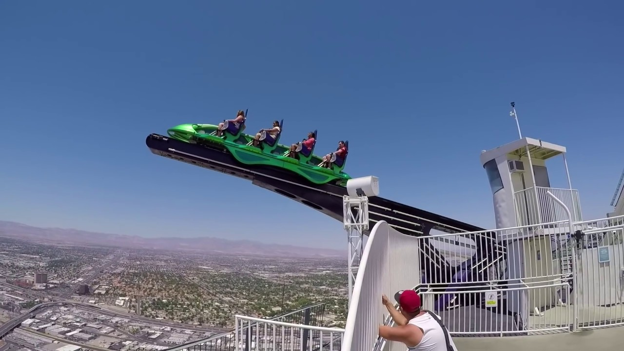 Stratosphere Las Vegas Ultimate Extreme Thrill Rides Youtube