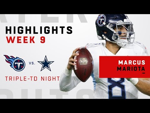 Marcus Mariota's Triple-TD Victory Over Dallas!