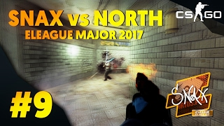 CS:GO - Snax vs. North - AWP ACE - ELEAGUE Major 2017