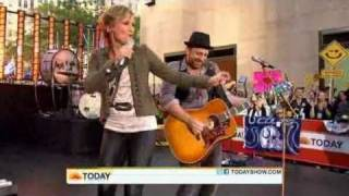 All I Want to Do Sugarland on Today Show Video
