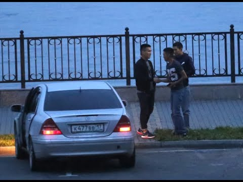 Красных партизан 1 - типичная ночь и рассвет с пьяными водителями 26 июля 4 утра