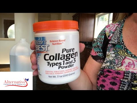 Dissolving Doctor's Best Pure Collagen Types 1 And 3 Powder