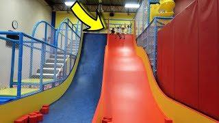 Indoor Playground for Kids Play Time - Huge Slide