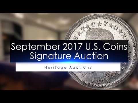 2017 Heritage U.S. Coins Signature Auction #1259 in Long Beach on September 7 and 8