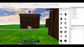 Roblox: Let's build a Village! Part 2: House and Town hall improvement