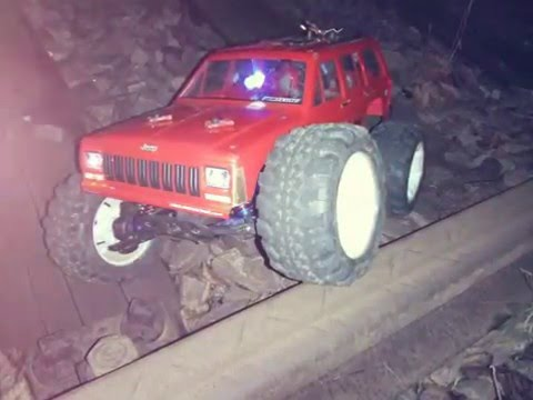 jeep cherokee offroad rc