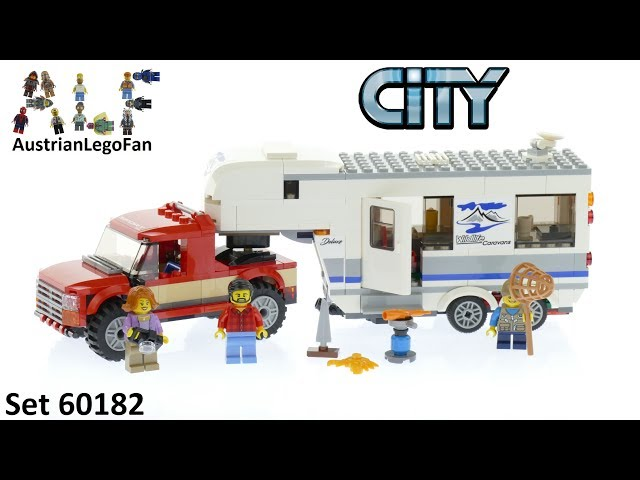Lego City 60182 Pickup & Caravan - Lego Speed Build Review
