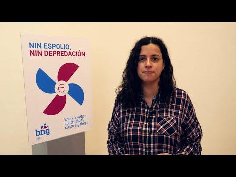 BNG lanza unha campaña para denunciar e responder ao espolio e a depredación eólicos