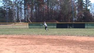 Nichole Mills Softball Audition