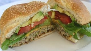 How To Make A Turkey Burger That's Juicy And Flavorful - It's Healthy Too!  By Rockin Robin