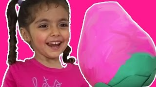 Peppa Pig Giant Eggs Surprise – New Peppa Pig Episodes In English Toys Unboxing + Kinder Surprise