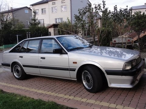 Mazda 626 GC GT 1985r 127.000km - YouTube