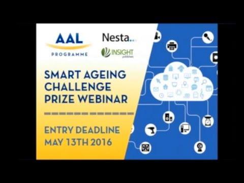 Smart Ageing Challenge Prize Webinar