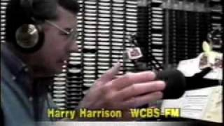 Harry Harrison WCBS-FM Radio New York 1991