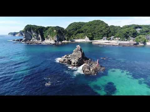 *4K* Moriya Beach Drone Shot (Japan)